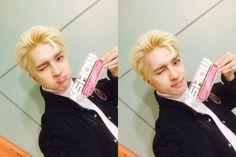VIXX Ken Twitter selca Show Champion 160504