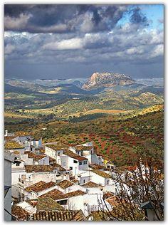 El Gastor, one of Spain's beautiful pueblos blancos. Cádiz, España