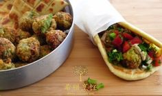 Chickpea-Balls, a specialty of Sifnos Island! A delicious vegan dish!