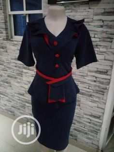 Office Clothing in Nigeria for sale ▷ Prices for Fashionable clothes on Jiji.ng ▷ Buy and sell online Office Dresses For Women, Office Outfits Women, Casual Outfits, Fashion Outfits, Clothes For Women, Office Clothing, 11 Clothing, Black Turkey, Casual Office Wear