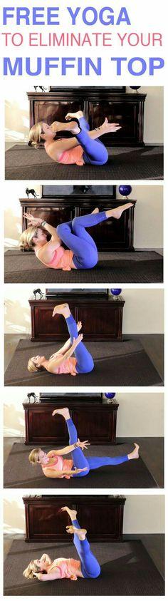 Muffin top yoga.