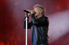 Jon Bon Jovi no show do Bon Jovi no São Paulo Trip (Foto: Celso Tavares/G1)