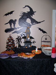 My daughter's Halloween Birthday party