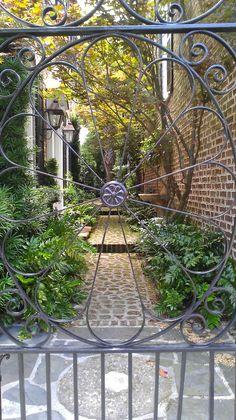 Courtyard Garden, Charleston SC
