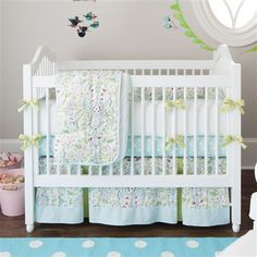 Bebe Jardin Crib Bedding #carouseldesigns