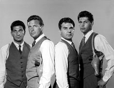 "The Untouchables: 1959-1963 Nicholas Georgiade as Agt. Enrico ""Rico"" Rossi Paul Picerni as Agt. Lee Hobson Robert Stack as Agt. Eliot Ness Abel Fernandez as Agt. William Youngfellow"