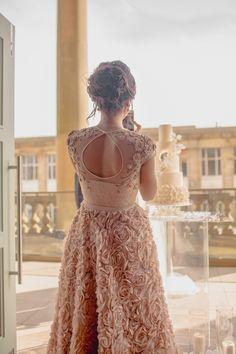bridesmaid dress wedding photography