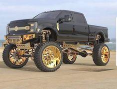 Big Ford Trucks, Gmc Trucks, Diesel Trucks, Cool Trucks, Ford Diesel, Jacked Up Chevy, Lifted Chevy Trucks, Jeep Truck, Chevy Pickups