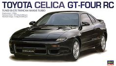 Hot Rod 2582: Hasegawa 1:24 Toyota Celica Gt-Four Rc - Plastic Model Kit #20255 -> BUY IT NOW ONLY: $54.95 on eBay!