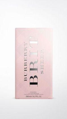 Burberry Brit Sheer Eau de Toilette 200ml | Burberry Burberry Brit, Fragrance, Perfume, Pink, Women, Eau De Toilette, Pink Hair, Roses, Woman