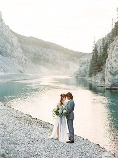 Runaway With Me To A Natural Elopement In The Canadian Mountains Luxe Wedding, Beautiful Wedding Venues, Elegant Wedding Dress, Wedding Trends, Dream Wedding, Canadian Wedding Venues, Destination Wedding, Wedding Planning, Wedding Destinations