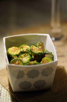 Chips di zucchine al microonde #casaitaliana Italian Home