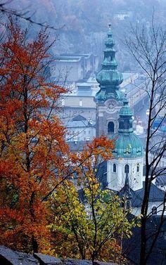 Autumn.. in Salzburg, Austria | Flickr - Photo by Mr Jive