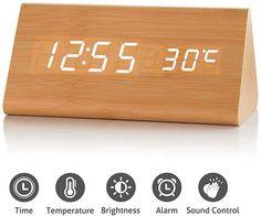 828 White Uleader AM FM Pocket Digital Radio with Alarm Clock.
