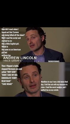 Omg did he actually say this!?! Hilarious!