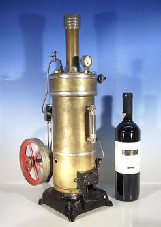 Bing stationary steam engine 53cm !!!! probably the biggest of its kind !! 1910/20 c  . EBay
