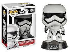 Star Wars: The Force Awakens First Order Stormtrooper Pop! Vinyl Bobble Head
