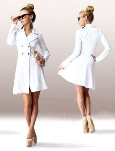 Russian Style Women's Trench Coats