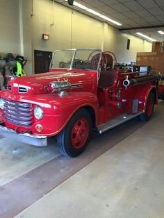 Old Ford Fire Truck