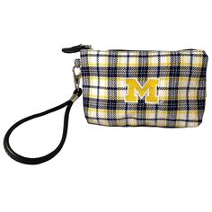 The Honour Society - Michigan Wolverines Wristlet, $19.99 (http://www.thehonoursociety.com/products/michigan-wolverines-wristlet.html)