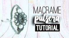 Pulsera espejo ♥︎ macrame | Bracelet | Como hacer | How to - YouTube