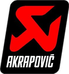 Akrapovic 09 Decal / Sticker