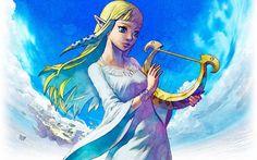 Wallpapers Video Games > Wallpapers The Legend Of Zelda - Skyward Sword Princess Zelda by tekakashi - Hebus.com