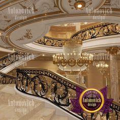 Design Discover Luxurious Villa Design in Cambodia Villa Design, House Design, Mansion Interior, Luxury Homes Interior, Home Interior Design, Interior Architecture, Dream Mansion, Luxury Homes Dream Houses, Staircase Design