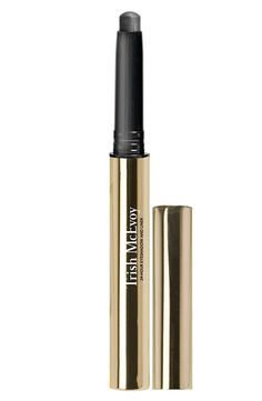 Pro tips: For a smoldering one-step smokey eye, apply all over your lid starting in the inner corner of the eye and, moving across the lash line, bring the color up to the crease. Use a laydown brush or your finger to blend.