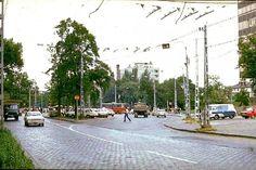 Ilyen is volt Budapest - évek vége, Hungária körút a Thököly útnál Anno Domini, Budapest Hungary, Old Photos, My Dream, Street View, Marvel, History, City, Landscapes