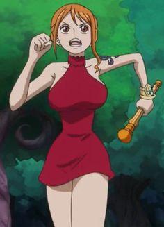 Nami 2 one piece episode 847 by Rosesaiyan on DeviantArt Manga Anime One Piece, Art Manga, Chica Anime Manga, Nami One Piece, Detective Conan Ran, Nami Swan, One Piece Episodes, Luffy X Nami, One Piece Cosplay