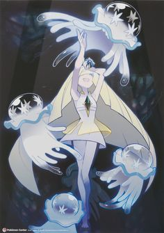 As much as I hate Lusamine, this picture with Nihilego is beautiful