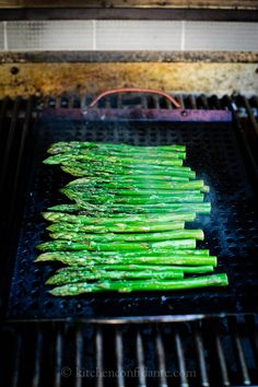 Grilled Asparagus | Kitchen Confidante | On the Grill