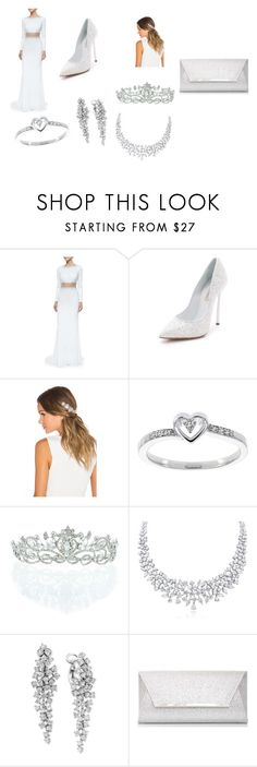 """""""Untitled #15"""" by frankpak on Polyvore featuring mode, Jovani, Casadei, Lelet NY, Modern Bride, Kate Marie, Effy Jewelry en Dorothy Perkins"""
