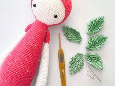 Tutoriales DIY: Cómo hacer las muñecas Erna y Bert de ganchillo con forma de fruta vía DaWanda.com