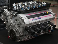 1997 Yamaha V10 DOHC Formula 1 Racing Engine- Model OX11A