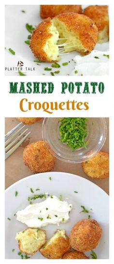 This Mashed Potato Croquettes Recipe uses leftover mashed potatoes for a completely new and mouthwatering appetizer, snack, or side dish!