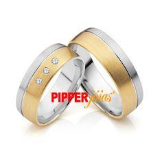 Alianças de Casamento em Ouro 18k e Prata - ALM516 Wedding Rings, Engagement Rings, Humor, Jewelry, Gold Wedding Rings, Cushion Wedding Bands, Estate Engagement Ring, Ladies Accessories, Jewels