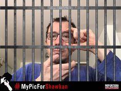 IL NE FAISAIT QUE SON TRAVAIL  #RSF a lancé mardi sur les réseaux sociaux la campagne #MyPicForShawkan pour la libération du photojournaliste Mahmoud Abu Zeid. Plus connu sous son pseudonyme Shawkan cet #Egyptien de 31 ans est en prison depuis près de cinq ans. Le 3 mars le parquet a requis la peine capitale contre lui.  Mahmoud Abu Zeid  #Shawkan Jeune #photojournaliste a été arrêté le 14 août 2013 alors quil couvrait le démantèlement par larmée du sit-in de Rabaa al Adaweya au Caire…