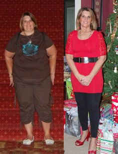 Uplifting weight loss story from woman who lost 120 lbs.