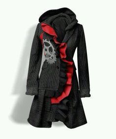 Bella Sisters of Portland, Oregon up cycled old blazers to awesome ladies jackets!!!!