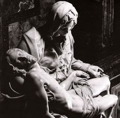 The Pieta, by Michaelangelo. Rome. The most beautiful encapsulation of faith. It is Love written in stone.