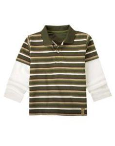 NEW GYMBOREE BOYS SHIRT SZ 8 Extreme Animals Stripes Cotton Everyday NWT Casual #Gymboree #DressyEveryday