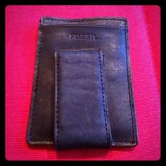 I just discovered this while shopping on Poshmark: Black leather wallet. Check it out!  Size: OS
