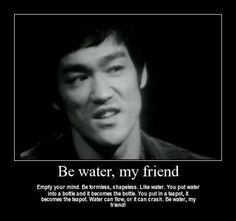 Wise is something he truly was and definitely extraordinary so beyond his short but brilliant years lived. He did things very brave and different with a fearless openness of acceptance. Bruce Lee forever one of a kind among history. Infinite master....
