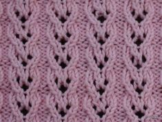 knit Hearts of overlapping wages Knitting Stiches, Lace Knitting, Knitting Patterns, Lace Patterns, Stitch Patterns, Diy Bags Purses, Crochet Videos, Beautiful Crochet, Sewing