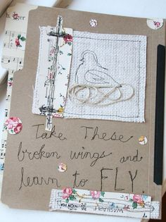 free stitching on paper, very cool ideas here