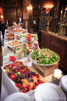 Wedding Buffet - Rachel Hawthorne Photography