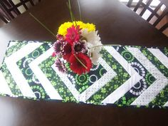 St Patricks Day Shamrock Table Runner by CreativeNSass on Etsy, $20.00