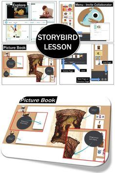 Storybird - online tool to create, read, and share visual stories. Amazing resource for teachers! Your Words. Our Art. Amazing Stories. Simple tools help you build books in minutes. Let the art inspire and surprise you as you write.• A new literacy tool for a new generation